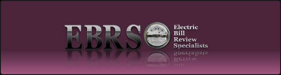 EBRS  (Electric Bill Review Specialists) auditors have over 25 years of experience finding overcharges on electrical utility bills.